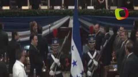 Presidente de Honduras presenta informe de gobierno
