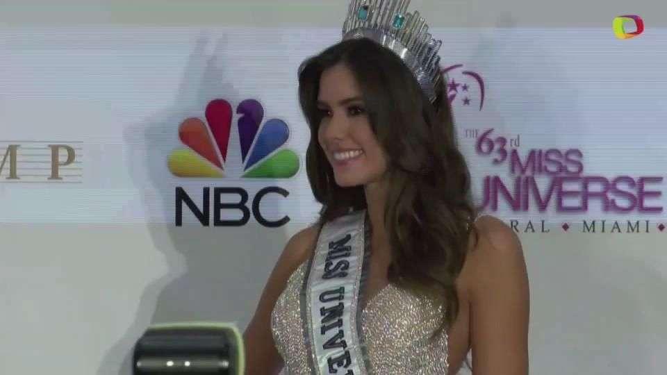 Nueva Miss Universo ve realizado el sueño de Colombia
