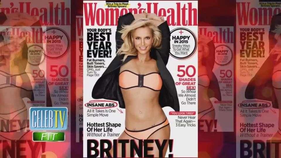 Vean los abdominales de infarto de Britney Spears!
