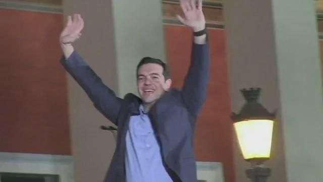 Alexis Tsipras, nuevo primer ministro de Grecia