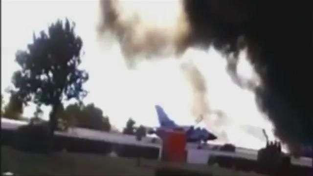 España: 10 muertos en accidente de F-16 griego