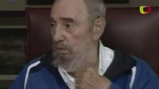 Fidel Castro no confía en EEUU