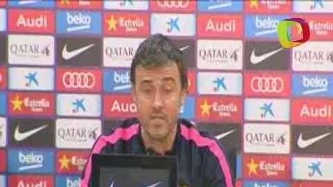 Luis Enrique cree que el Atlético jugará con intensidad