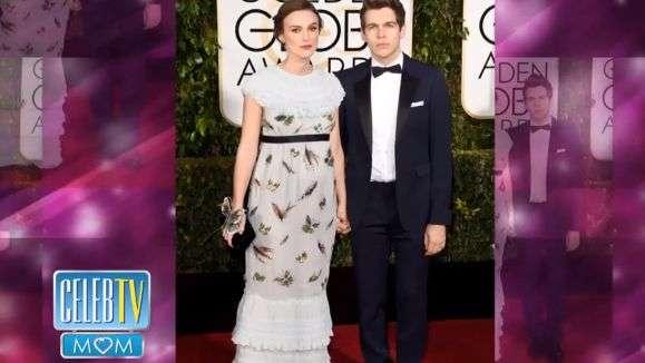 Vean la panza de Keira Knightley en los Golden Globe