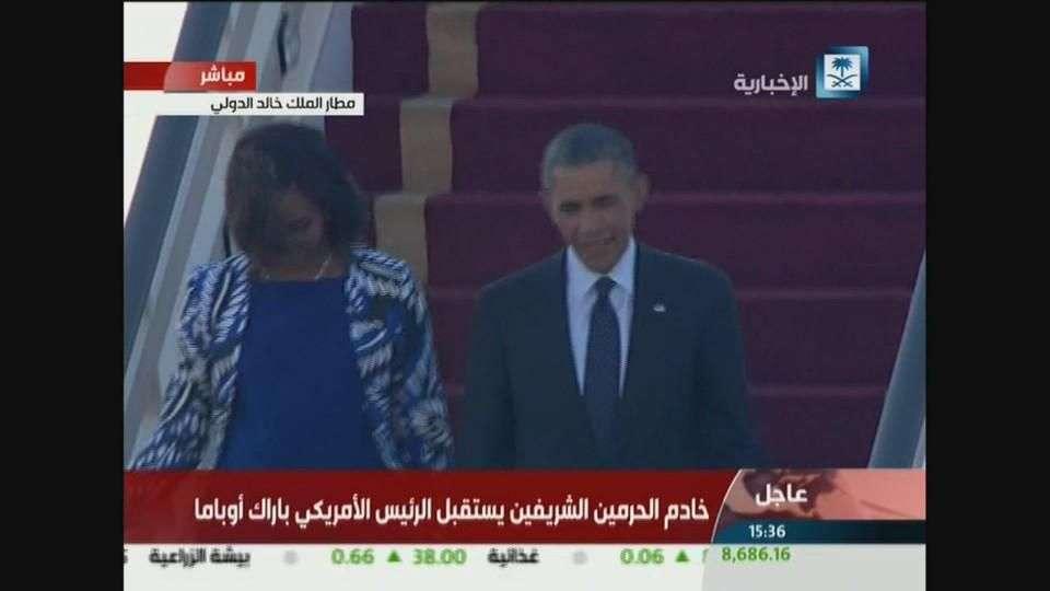 Obama visita Arabia Saudí