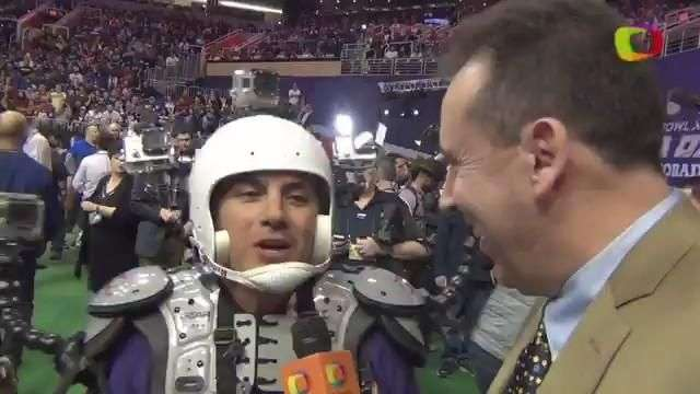 Mr Selfie ataca el Media Day del SuperBowl 2015