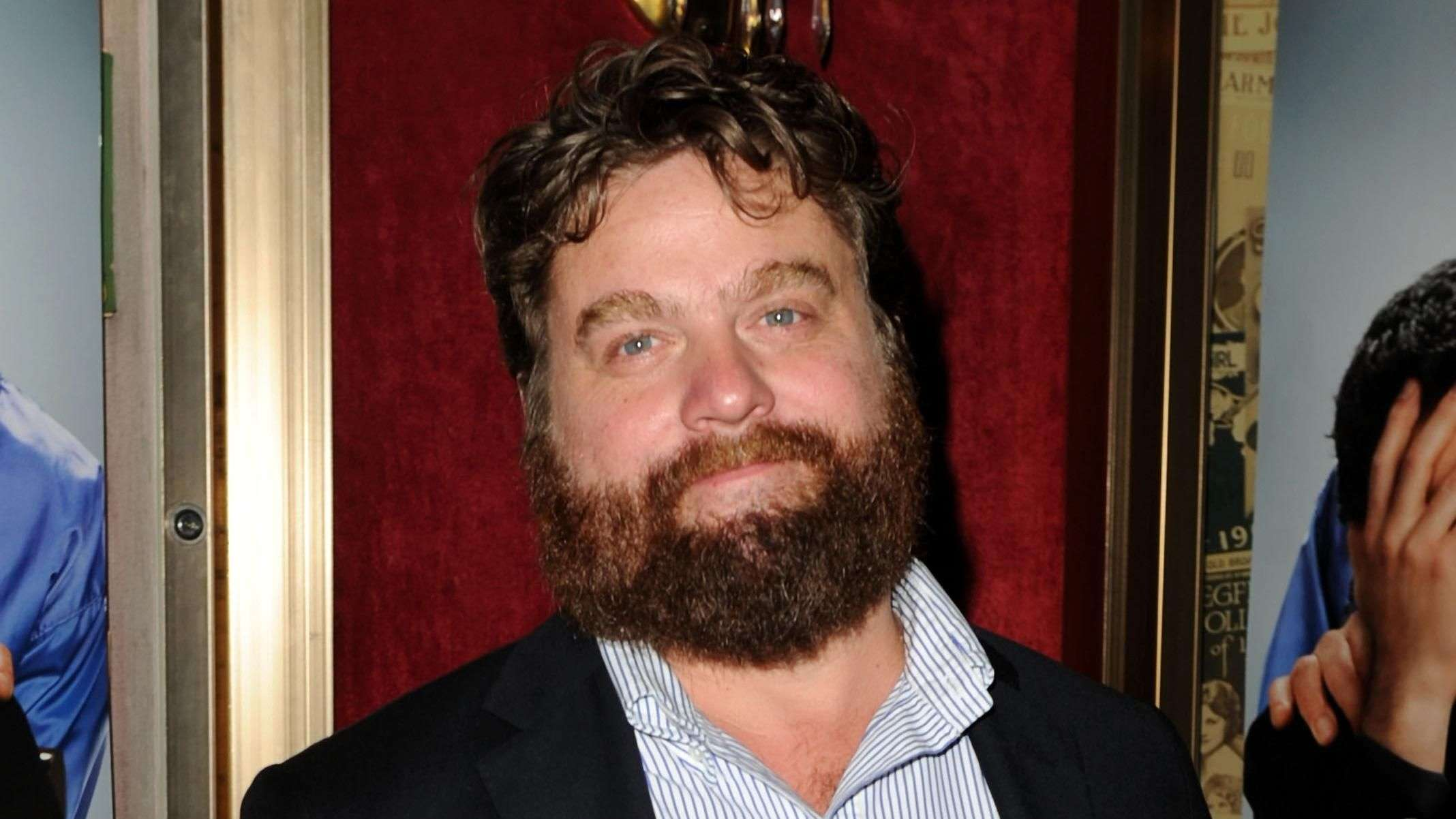 Zach Galifianakis Unrecognizable at SAG Awards