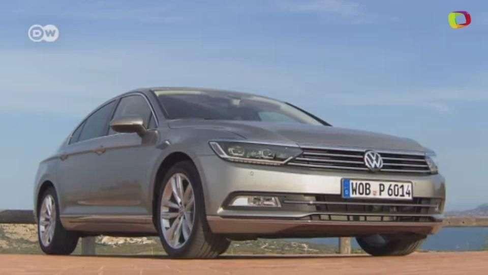 VW Passat sedán, de prueba
