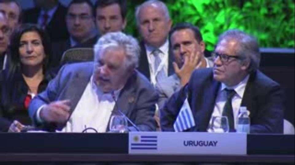 Aplauden a Mujica en la Celac por su defensa de 'la ...