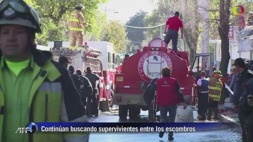 Terrible explosión de gas en hospital infantil