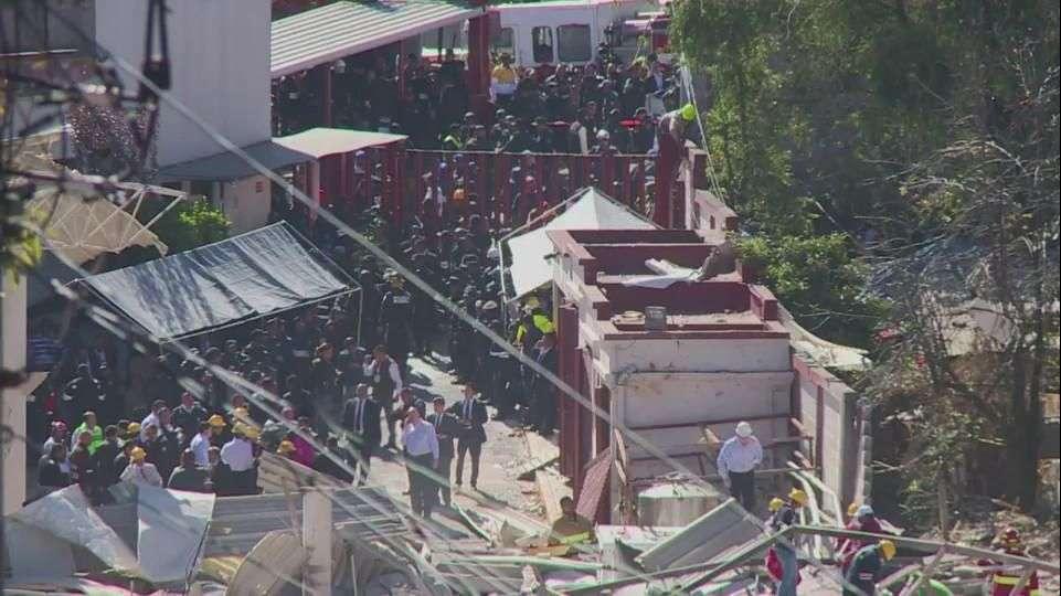 2 muertos deja explosión en hospital materno en México