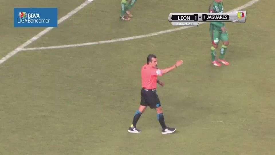 Jornada 4, León 1-1 Chiapas, Clausura 2015