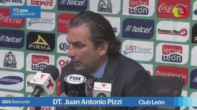 Jornada 4, Juan Antonio Pizzi , León 1-1 Chiapas, ...