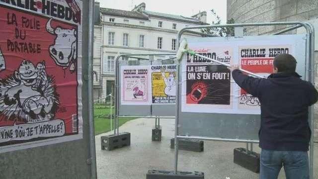 Festival del cómic da homenaje a Charlie Hebdo