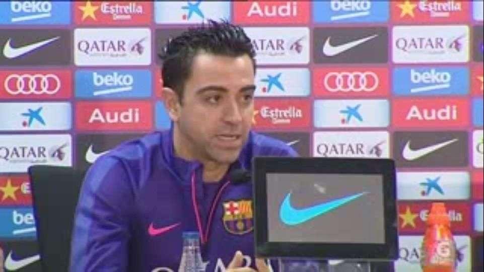 Xavi lamenta que resultados cambien todo en el Barcelona
