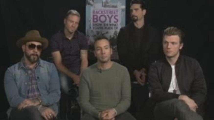 "Backstreet Boys presentan documental ""Show 'Em What ..."