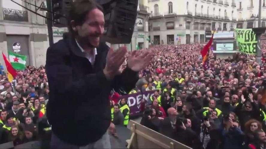 Miles de españoles acuden a la 'Marcha del Cambio' de ...