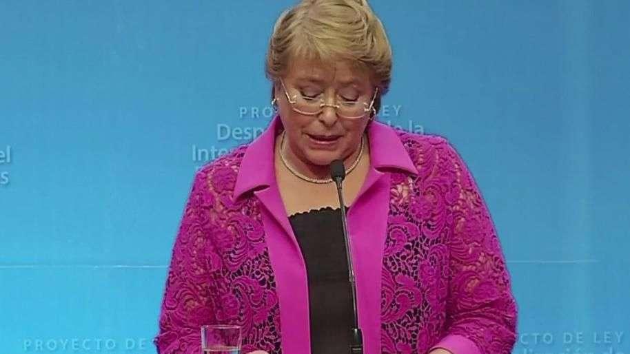 Bachelet envía ley del aborto al Congreso de Chile