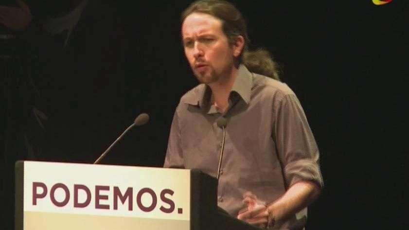 Líder de Podemos desafía a Rajoy a debate en TV