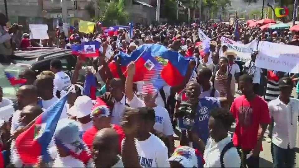 Haitianos protestan contra racismo en República Dominicana