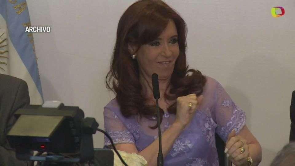 Justicia argentina rechaza denuncia a Kirchner