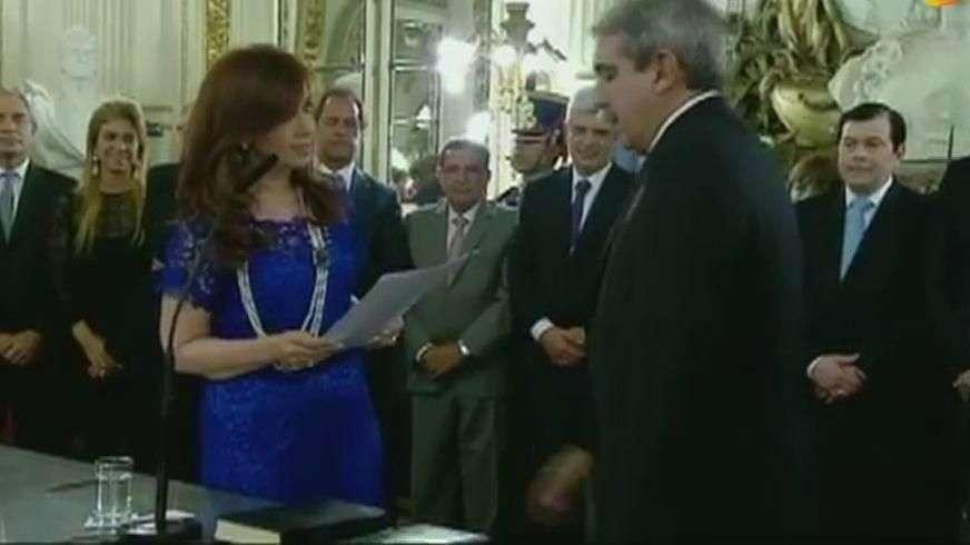 Nuevo jefe de Gabinete en Argentina