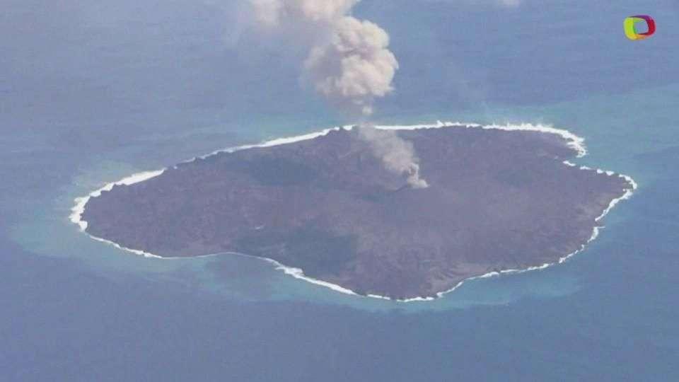 Isla recién nacida lucha por sobrevivir