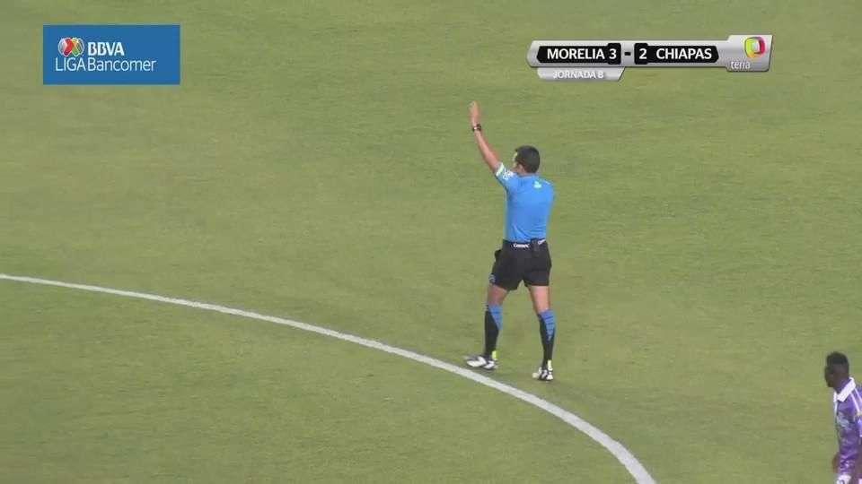 Jornada 8, Morelia 3-2 Chipas, Liga Mx, Clausura 2015