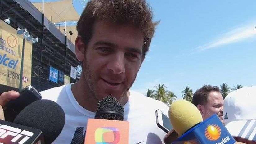 Del Potro desea final Nishikori vs Ferrer en Abierto ...