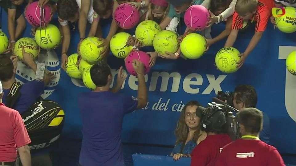 Público supera a Sharapova gracias a 'Santi' y Mariusz