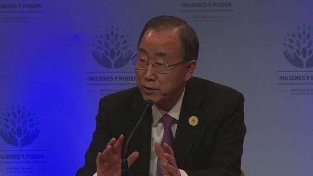 Ban Ki-Moon pide diálogo en Venezuela