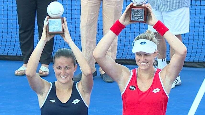 Españolas ganan título en dobles del Abierto Mexicano