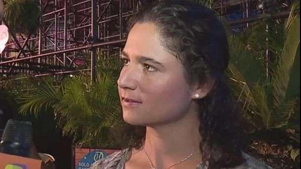 Lorena Ochoa apoya a Santi y a Ferrer en Abierto Mexicano