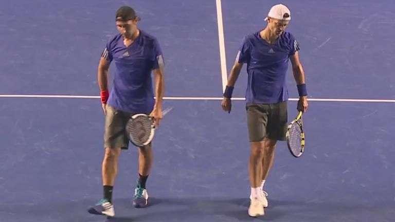 Santi y Mariusz, derrotados en final de dobles en Acapulco