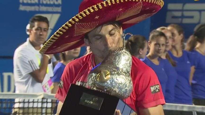 Ferrer se adueña de Acapulco al ganar cuarto título del AMT