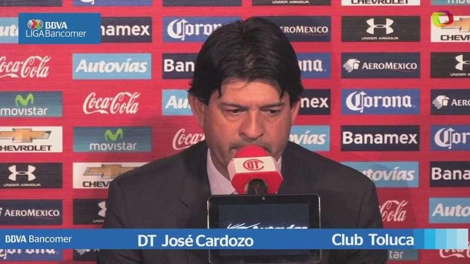 Jornada 8, Conferencia José Cardozo, Toluca 1-0 Cruz ...
