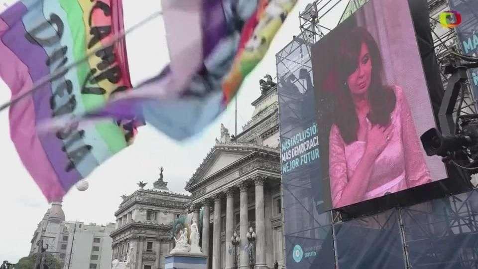 Presidenta argentina habla en Congreso
