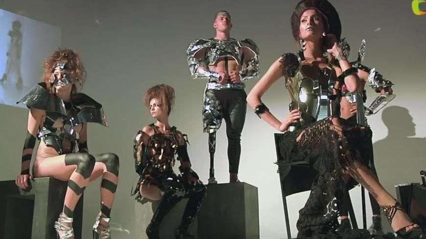 Moda para amputados en Milán