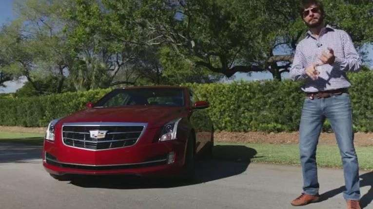 Video Prueba Cadillac ATS Coupe 2015