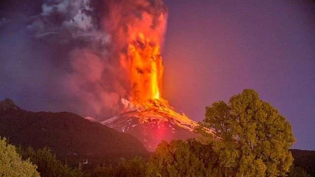 Impresionante video de la erupción del Villarrica