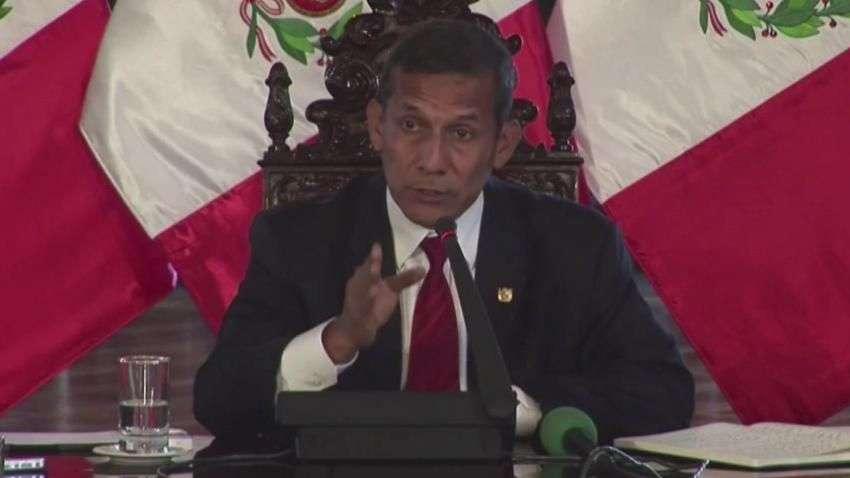 Humala acusa a Chile de espionaje