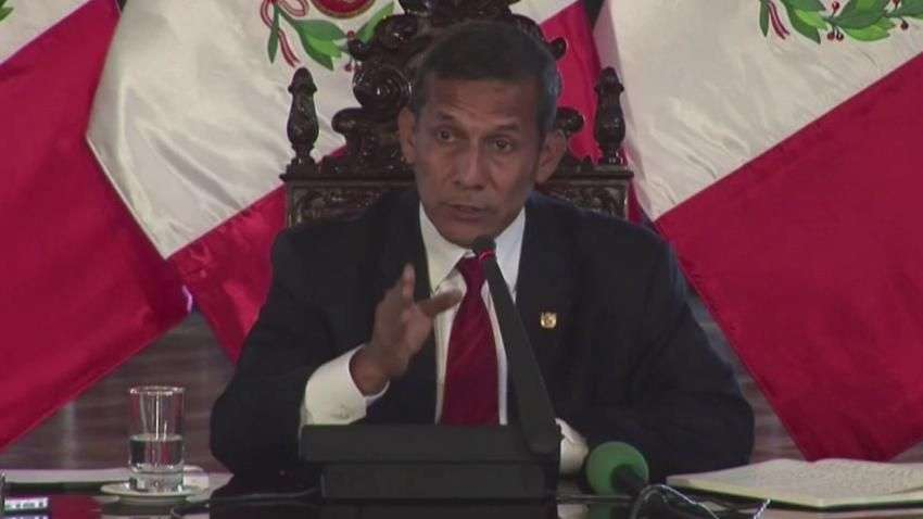 """Humala tiene """"pruebas"""" de que Chile pagó espías"""