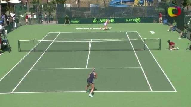 Bacsinszky gana en primera ronda en Abierto de Monterrey