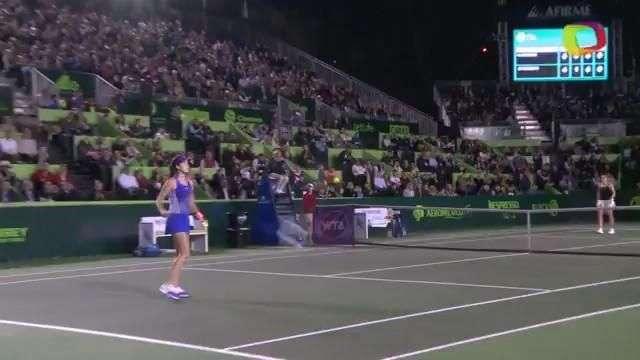 Ana Ivanovic sufre y triunfa en Abierto de Tenis Monterrey
