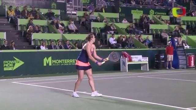 Pavlyuchenkova inicia con triunfo en Monterrey