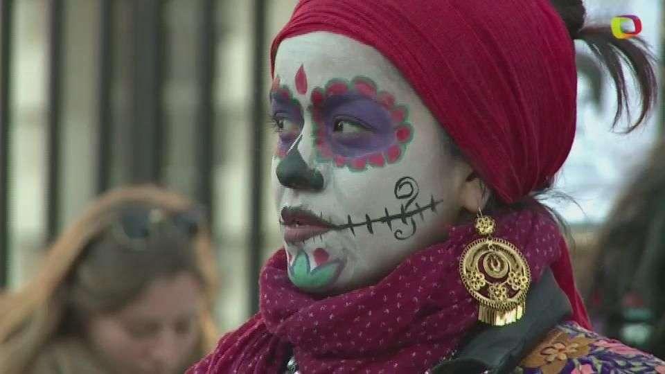 Manifestación contra Peña Nieto en Londres
