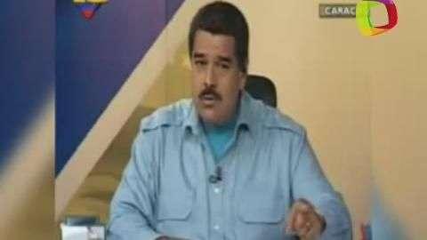 Maduro presenta audio que confirma atentado golpista