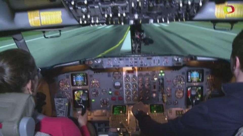 El miedo a volar se quita simulando volar