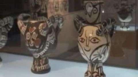 Exhiben cerámicas de Picasso en Washington