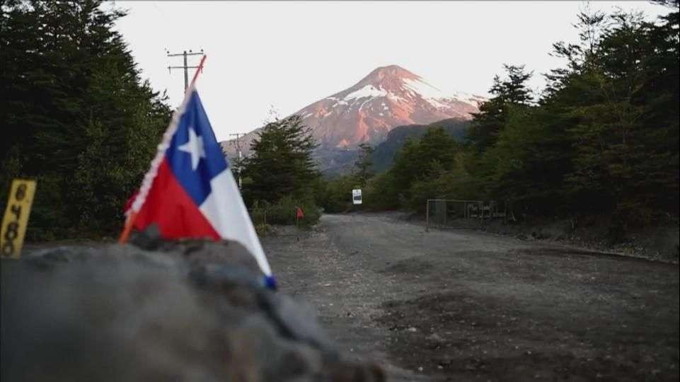 Baja la actividad del volcán Villarrica